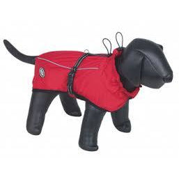 "66113 NOBBY Dog coat ""ULAN"" red 80 cm - PetsOffice"