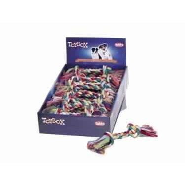 50548 NOBBY Rope Toy 90 g; 2 knots - PetsOffice