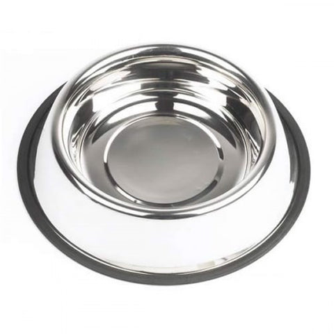 72816 Stainless steel bowl, anti slip - PetsOffice
