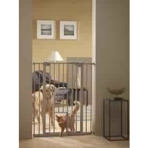 76303 NOBBY Dog Door Barrier with additional cat door H: 107 cm - PetsOffice