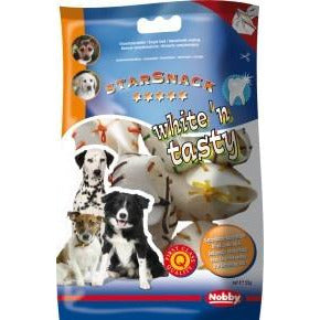 68003 NOBBY White´n Tasty shoes coloured 7,5 cm, 55 g, 5 pcs - PetsOffice