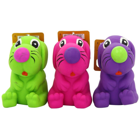 67027 NOBBY Latex Toy Dogs - PetsOffice