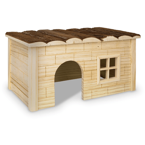 "25559 NOBBY WOODLAND Rodent wooden house ""HANNI"" - PetsOffice"