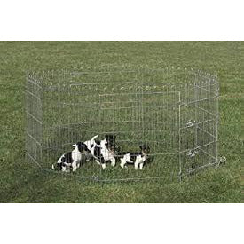 81082 NOBBY Play pen 8 elements of 76 x 61 cm - PetsOffice