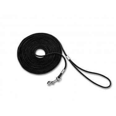 73240 NOBBY Tracking leash round black l: 5 m; w: 5 mm - PetsOffice