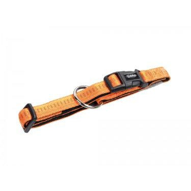 "78512-04 NOBBY Collar ""Soft Grip"" orange l: 40/55 cm; w: 25 mm - PetsOffice"