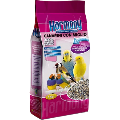 Canaries with Millet Made In Italy 1Kg