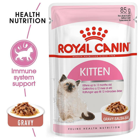 Royal Canin Kitten Instinctive Gravy 85g - PetsOffice