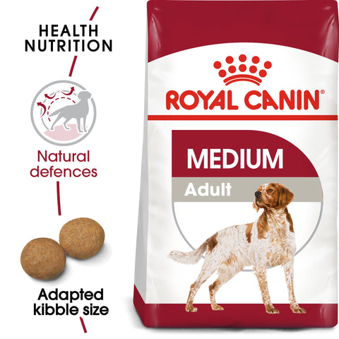 Royal Canin Medium Adult 4kg - PetsOffice