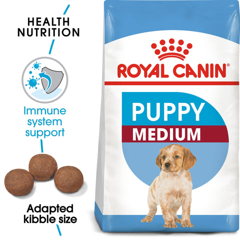 Royal Canin Medium Puppy 4kg - PetsOffice