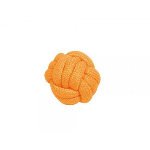 "60343 NOBBY Rope Toy ""NEON"", Ropeball orange 6,5 cm - PetsOffice"