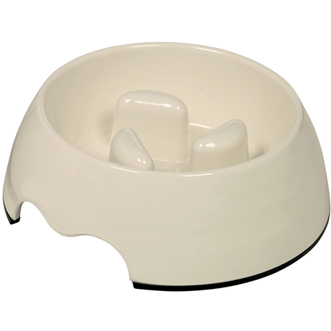 73486-02 NOBBY Anti-gulping bowl 17,5 x 6,5 cm, 400 ml - PetsOffice