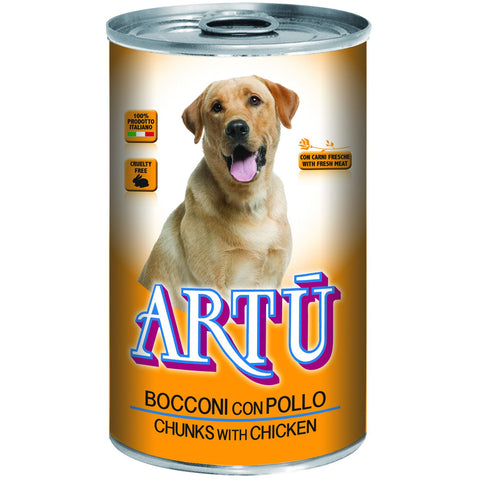 Artu Wet 1230g With Chicken - PetsOffice