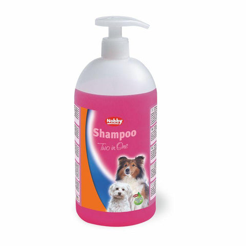 75883 NOBBY Shampoo 2in1 1000ml Made in Germany - PetsOffice