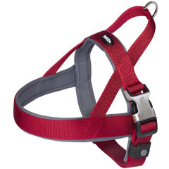 "80640-01 NOBBY Norwegian Harness ""Classic Preno Royal"" red L: 50-64 cm + 42 cm; W: 25/35 mm - PetsOffice"