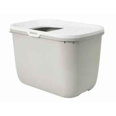 "72179 Cat toilet Beige-White ""Hop In"" - PetsOffice"