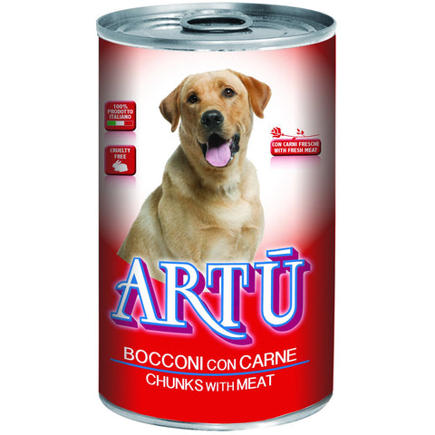 Artu Wet 1230g With Meat - PetsOffice