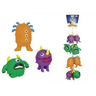 "60434 NOBBY Latex figures ""Monsters"" 9-11,5 cm - PetsOffice"
