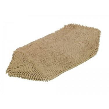 "70995-02 NOBBY Dirt trap and towel ""DRY & CLEAN"" beige 81 x 35 cm - PetsOffice"