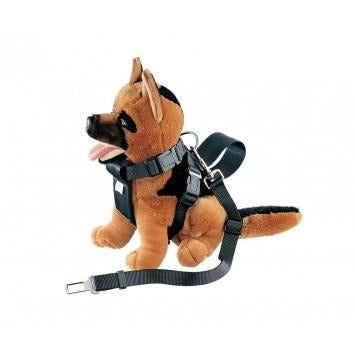 75323 NOBBY Harness incl. Car safety seat belt size M; neck: 56 cm; chest: 70 cm - PetsOffice