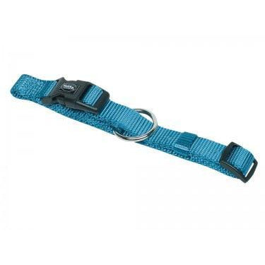 "74701-32 NOBBY Collar ""Classic"" light blue l: 20-35 cm; w: 10 mm - PetsOffice"
