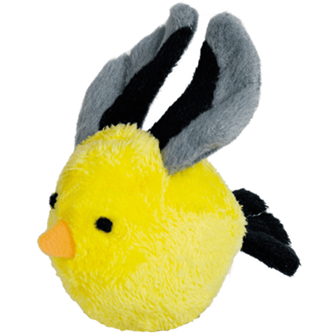 67554 Plush BIRD with rattle - PetsOffice