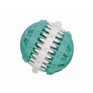 "60470 NOBBY Rubber Ball ""DENTAL LINE"" bicolour 7 cm - PetsOffice"