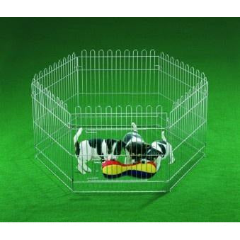 81081 NOBBY Play Pen 6 Elements 60cm x 60cm - PetsOffice