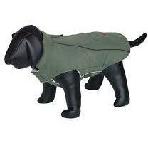 "66654 NOBBY Dog coat ""CAJA"" green 36 cm - PetsOffice"