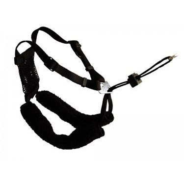 79290 COA Non-Pull Harness black medium - PetsOffice
