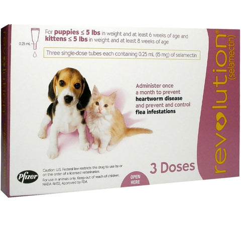 Revolution for Puppies&Kittens (1 Dose)