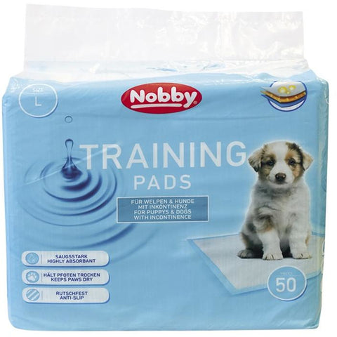 57157 NOBBY Doggy Trainer Pads 50 pcs L - 60 x 60 cm - PetsOffice