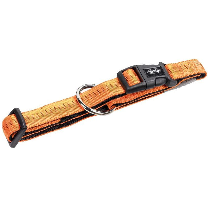 "78510-04 NOBBY Collar ""Soft Grip"" orange l: 25/35 cm; w: 15 mm - PetsOffice"