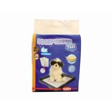 67152 NOBBY Doggy Trainer Pads 6 Pcs S - 48 x 41 cm - PetsOffice