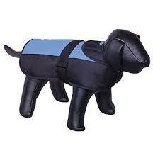 "66293 NOBBY Dog coat ""CAIBO"" blue-black 80 cm - PetsOffice"