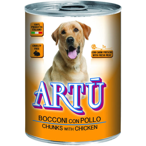 Artu Wet 415g With Chicken - PetsOffice