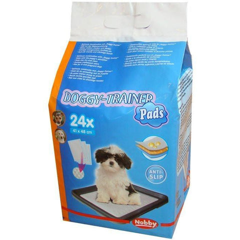 67153 NOBBY Doggy Trainer Pads 24 Pcs S - 48 x 41 cm - PetsOffice