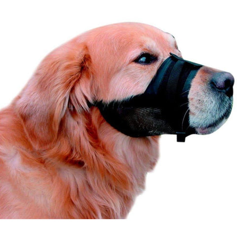 79284 Muzzle adjustable black size 3 - PetsOffice