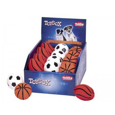 62364 NOBBY Latex balls 6,5-10 cm - PetsOffice