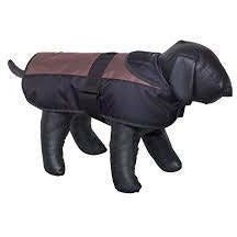 "66278 NOBBY Dog coat ""CAIBO"" brown-black 80 cm - PetsOffice"