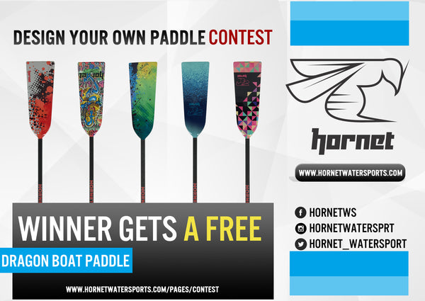 Design your own paddle contest