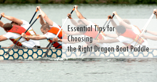 How to choose a dragon boat paddle