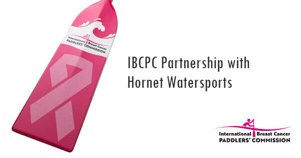 IBCPC Hornet Watersports Pink Dragon Boat Paddle