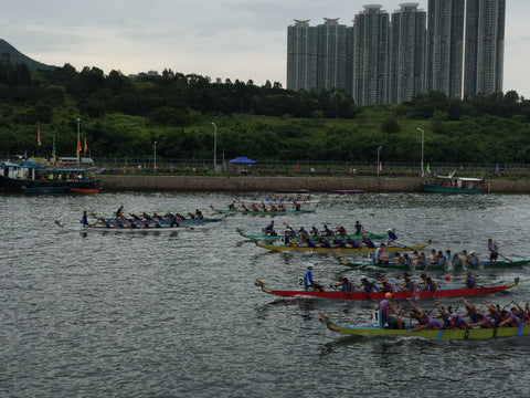 Hong Kong Race Dragon Boat