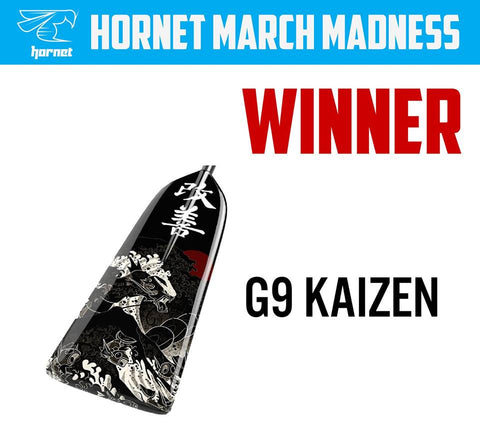 The winner of Hornet March Madness is G9 Kaizen Design!