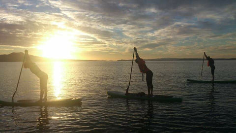 Sunset SUP Paddling