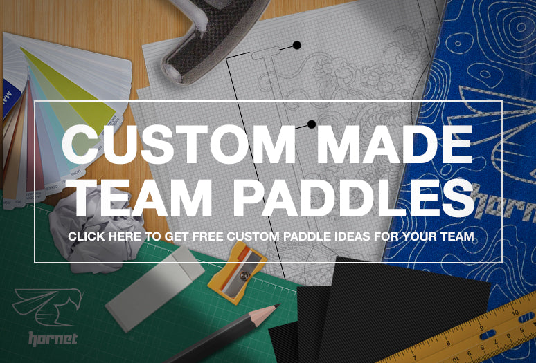 Custom team paddles