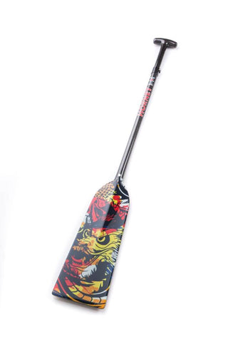 Dragon Master - Hornet STING G22 Dragon Boat Paddle IDBF Approved Available in Fixed or Adjustable Lengths with Design on Both Sides