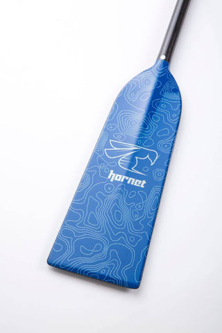 Blue Haze - Hornet STING G18 Dragon Boat Paddle IDBF Approved Available in Fixed or Adjustable Lengths with Design on Both Sides