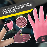 NEW Full Finger Light Pink Paddling Gloves Ideal for Dragon Boat, Kayak, Rowing, SUP, OC  and other Watersports